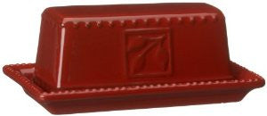 Sorrento Ruby Butter Dish