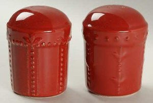 Sorrento Ruby Salt/Pepper Shakers