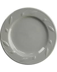 Sorrento Grey Salad Plate