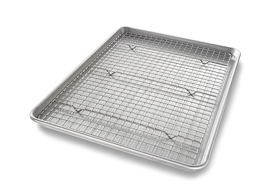 USA Pan Half Sheet with Cooling Rack