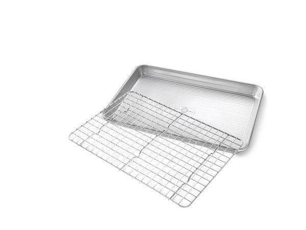 USA Pan Jelly Roll Pan with Cooling Rack