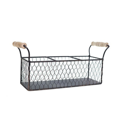 VIP Metal basket with 3 jars