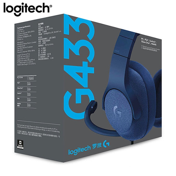 Logitech G433 DTS Headphone 7.1 Surround Gaming Headset