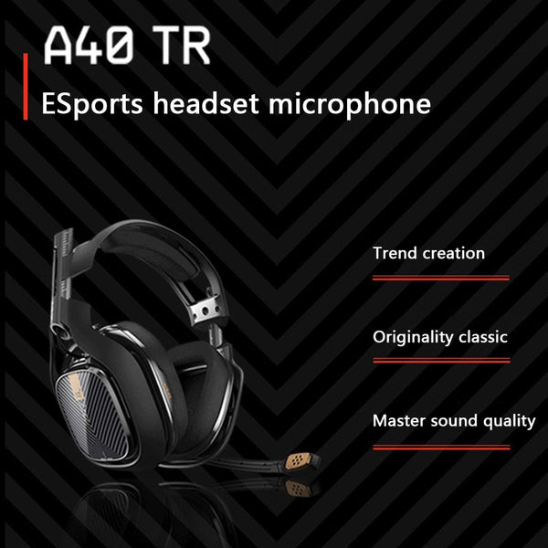 Logitech Astro A40 Gaming Headset 3.5mm Wired 7.1 Surround Sound PC PS4 XBox
