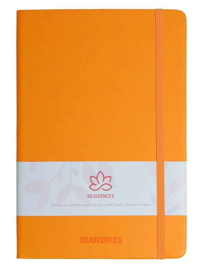 Tangerine A5 Notebooks
