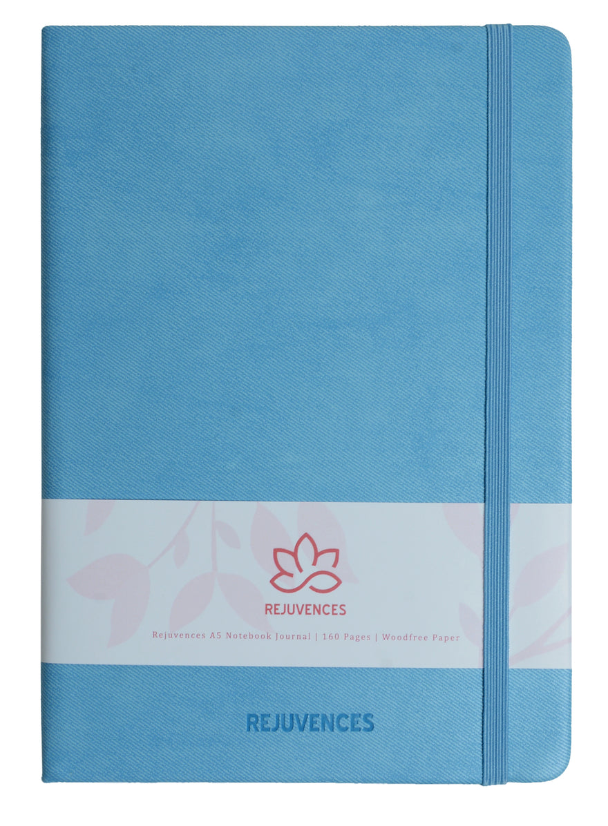 Light Blue A5 Notebooks