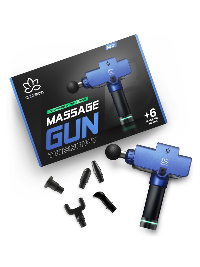 "Massage Gun ""Regulated and Approved by ESMA"""