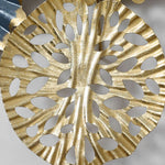 Gold Plated Hand Wrought Wall Art