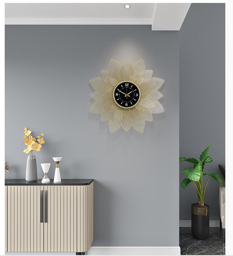 Decorative Sun Flower Clock