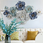 Iron Flower Wall Art