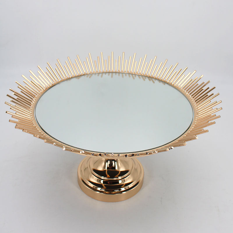 Round Decorative Serving Tray
