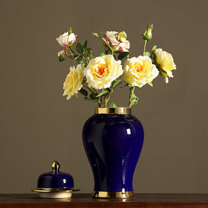 Royal Blue Ginger Jar