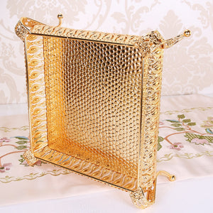 Hollow Gold Tray
