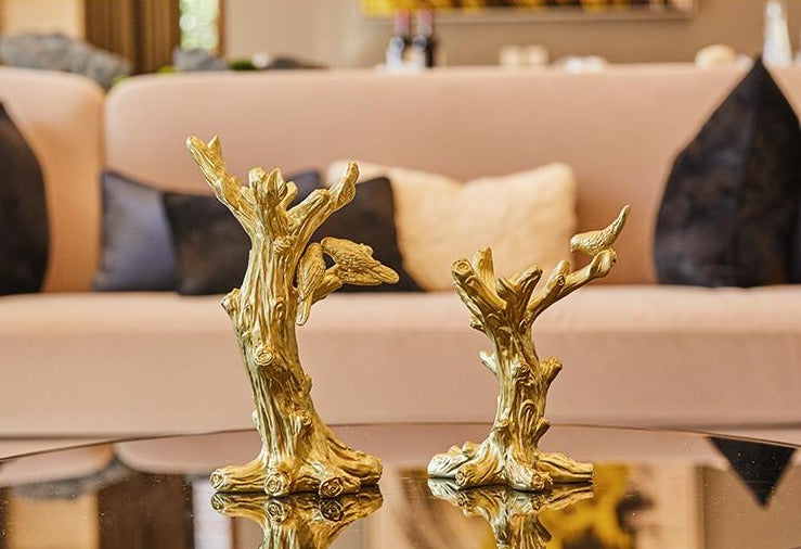 Golden Tree with Crystal  Set