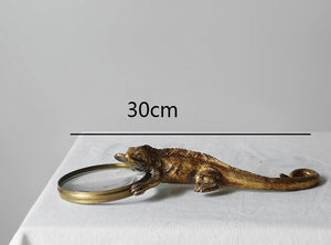 Antique Lizard Magnifying Glass
