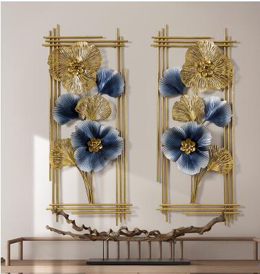 Floral Wrought Iron Frame