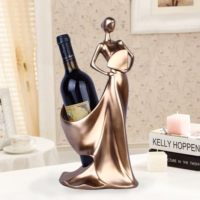 Elegant Lady Wine Holder