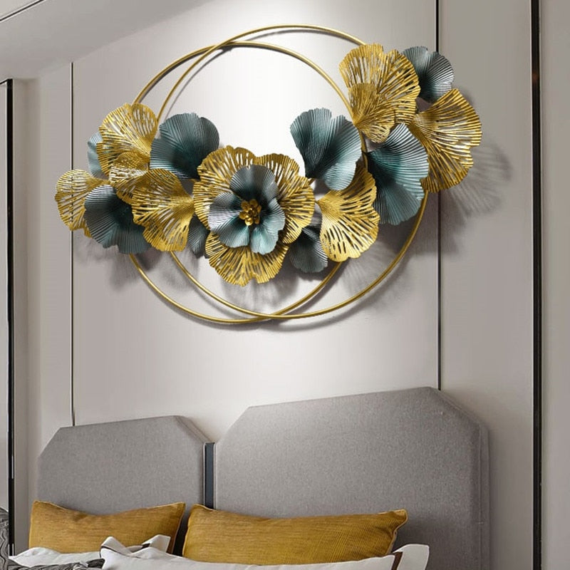 3D Wrought Iron Wall Art