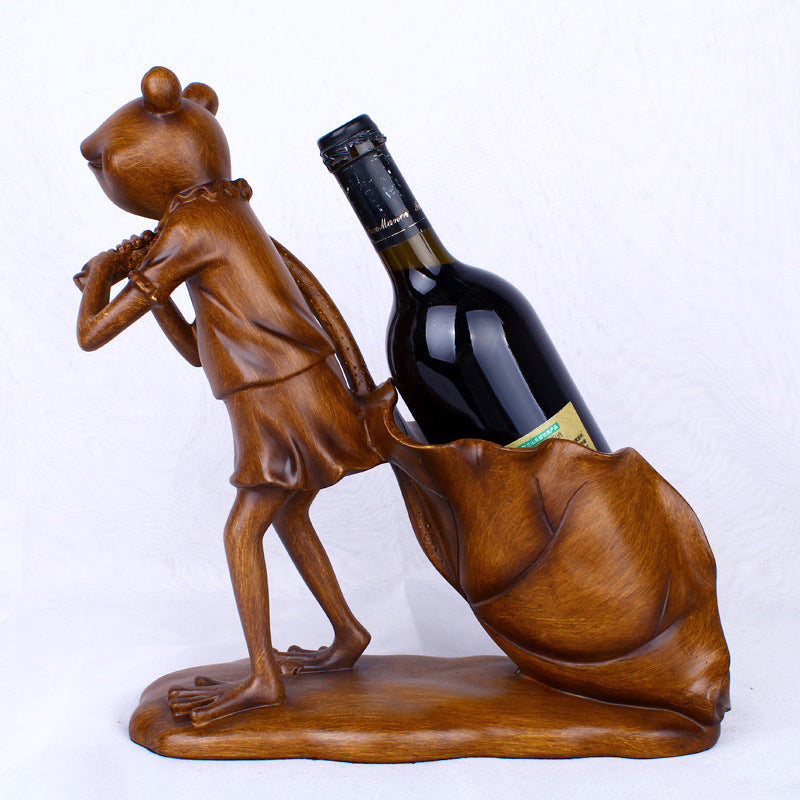Frog Wine Stand