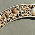 Natural Stones and Shell Mirror
