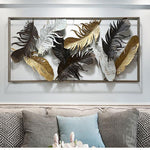 Feather Wrought Iron Frame