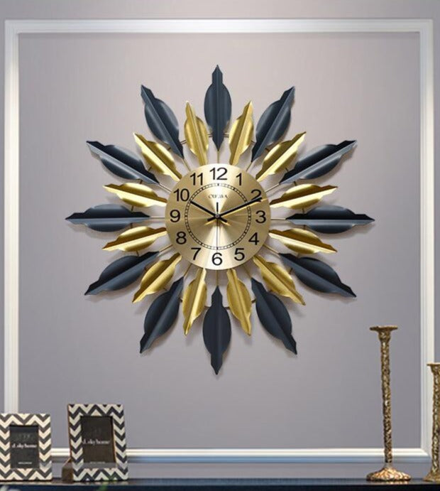 Decorative Hand Wrought Iron Clock
