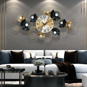 High-End Wrought Iron Clock