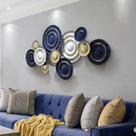 Creative Wrought Iron Wall Art