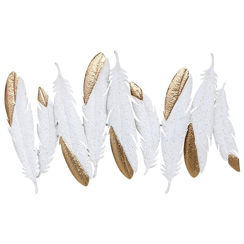 Dual Tone Feather Wall Art