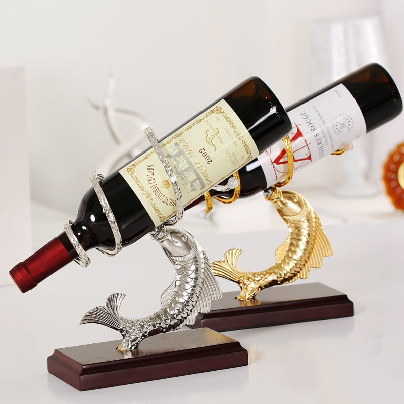 Fish Wine Holder