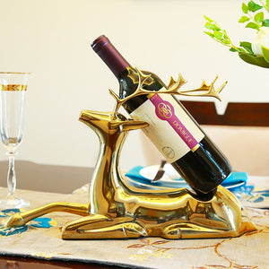 Deer Wine Holder