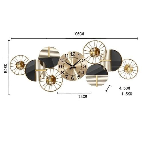 Deluxe Sunset Wall Clock