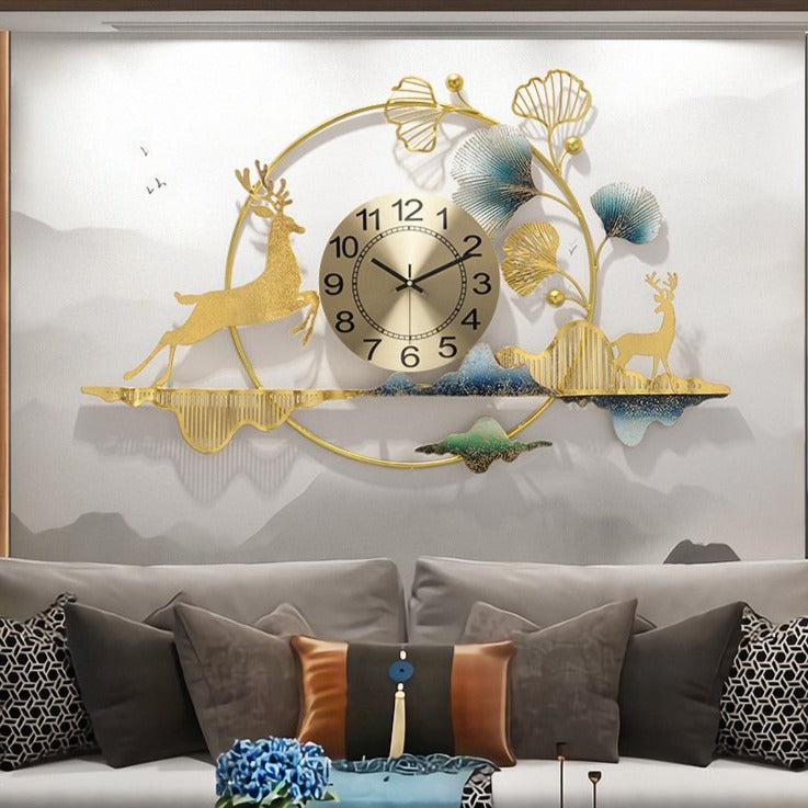North End Wall Clock