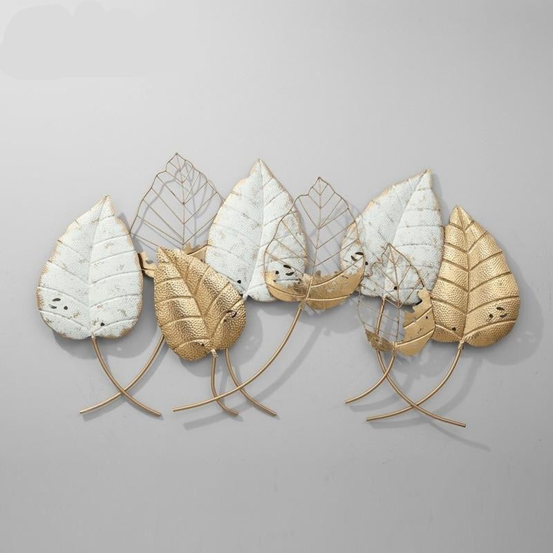 Vintage Fall Leaves Wall Art