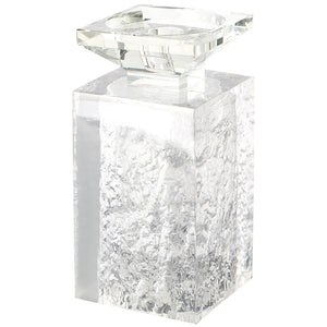 Ice Cracked Candle Holders