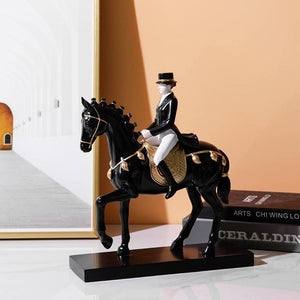 Jockey Figurine