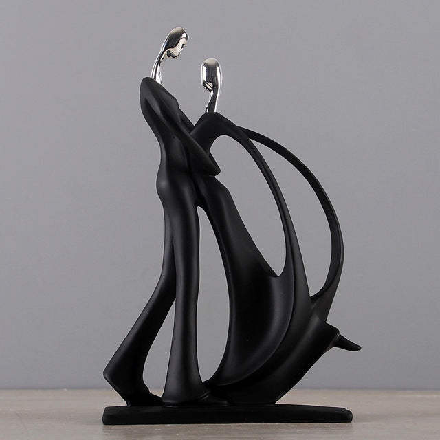 Resin Dancing Couple