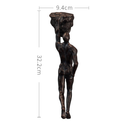 Climbing Figures Wall Art