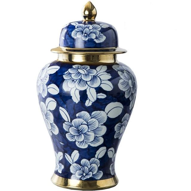 Royal Hand Painted Ginger Jars
