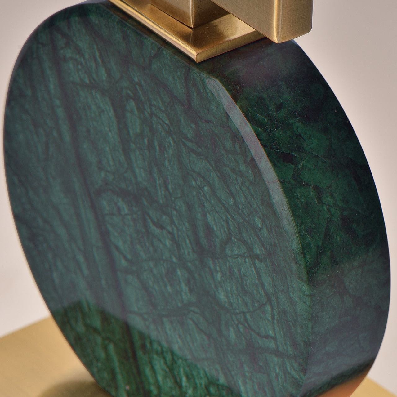 Handmade Green Marble Candle Holders