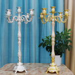 Tall Vintage Candle Holders