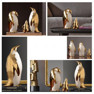 Penguin Family Set