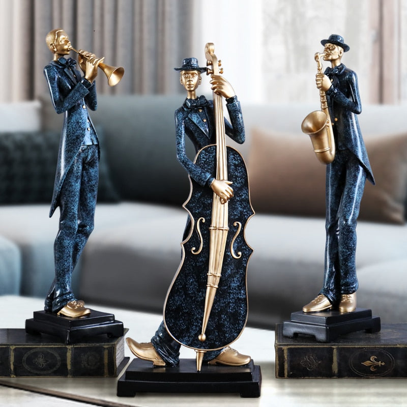 Music Band Statues