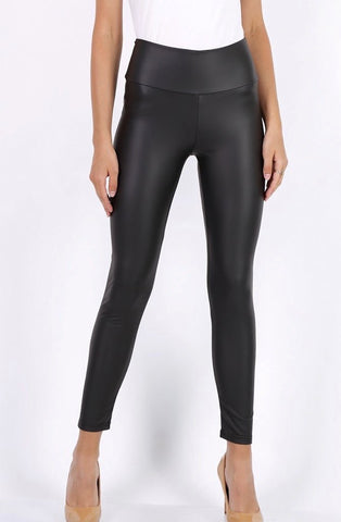 LEATHER LEGGINS