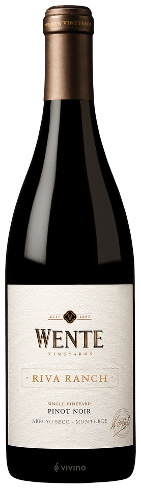 Wente Vineyards Riva Ranch Pinot Noir 2016