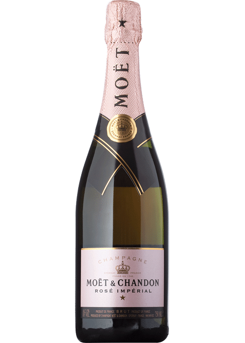Moet Imperial Rosé Champagne