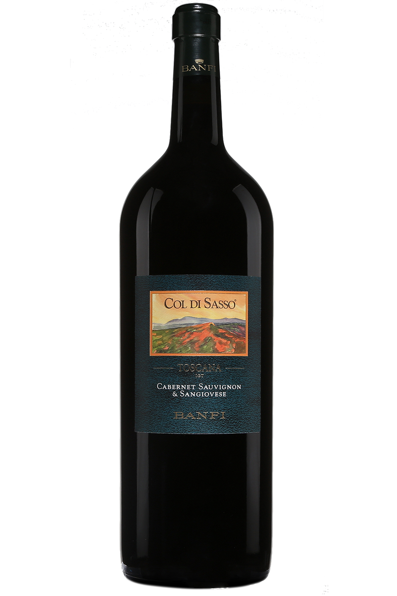 Banfi Vintners Cabernet/Sangiovese Col-di-Sasso Rehoboam (5L) 2014