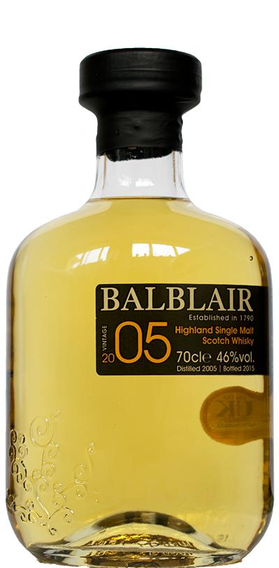 Balblair Highland Single Malt Whisky