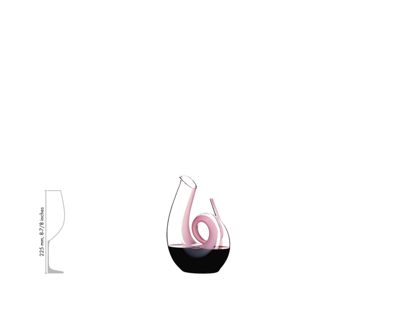 Riedel Decanter Curly Pink 2011/04