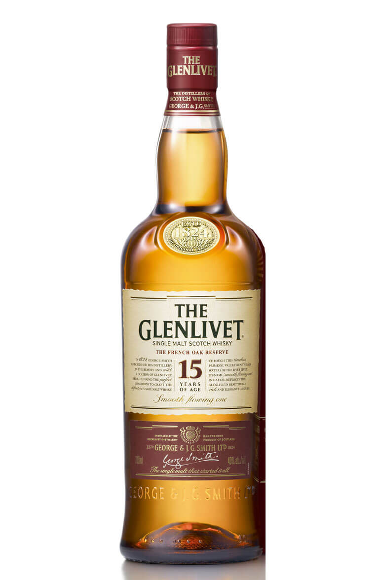 Glenlivet 15 Year Old French Oak Malt Whisky